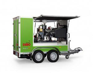 Dibo jmb-C+ Trailer mountedpressure washer