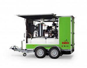 Dibo jmb-C+ WWC Trailer mountedpressure washer