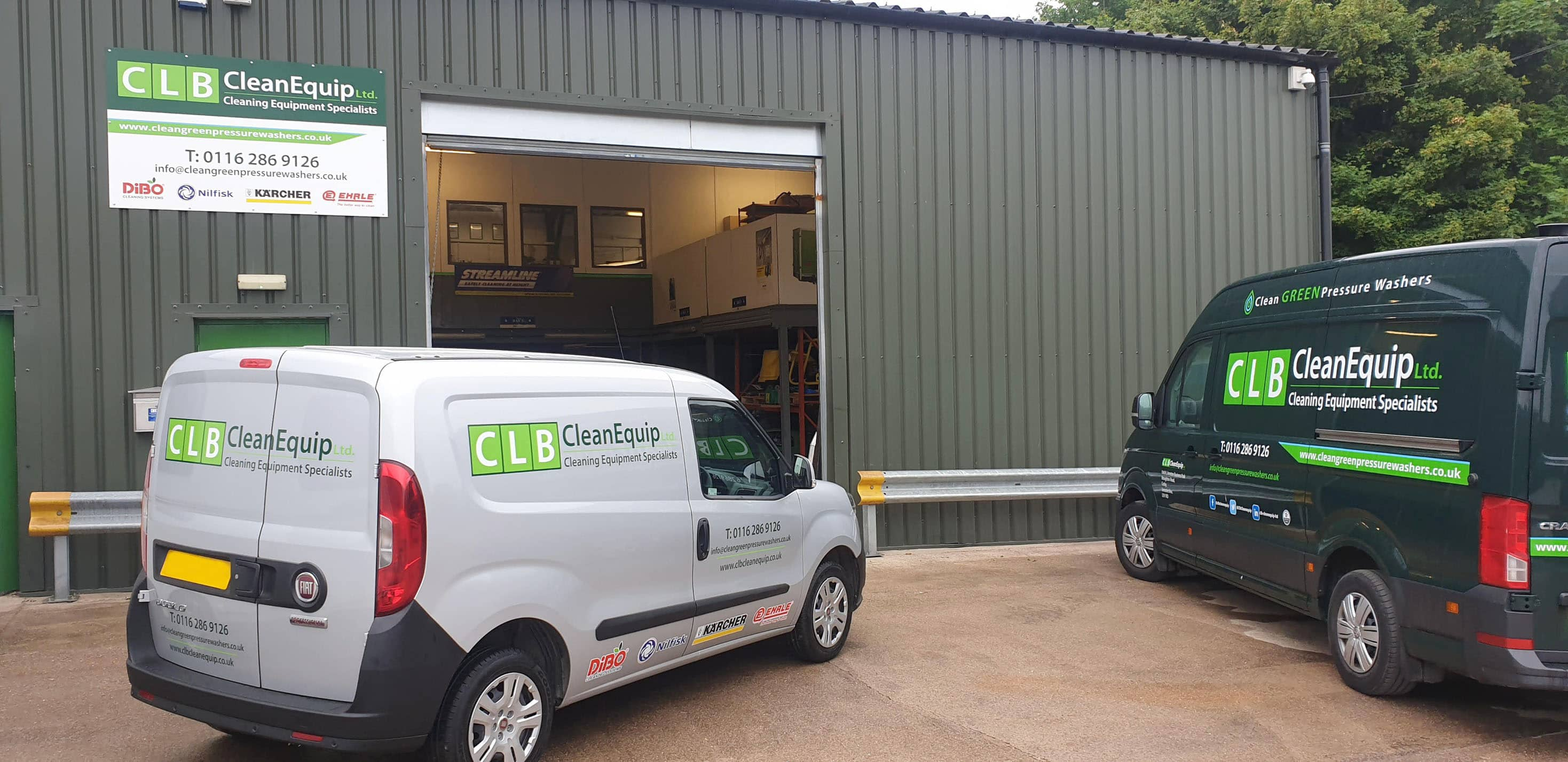 Clean Green pressure washers head office
